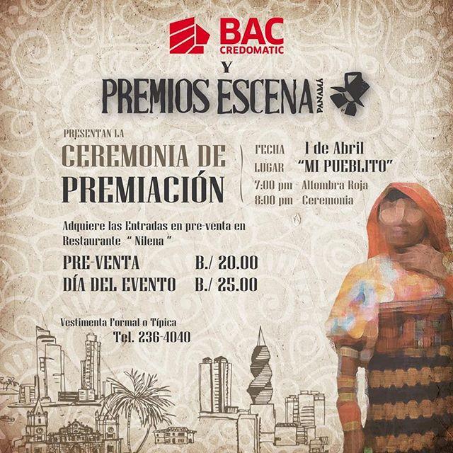 Photo of Premios Escena Panamá anuncia su gala de premiación