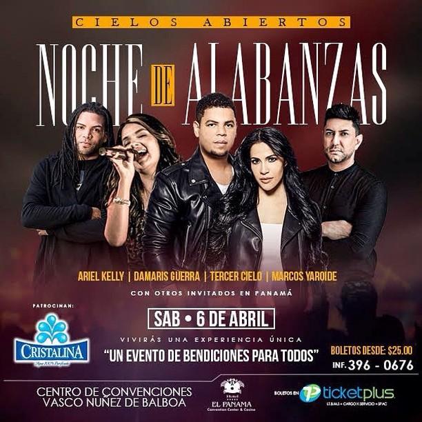 Photo of Una «Noche De Alabanzas» en Hotel el Panamá