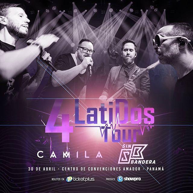 Photo of Concierto en Panamá de Camila y Sin Banderas juntos