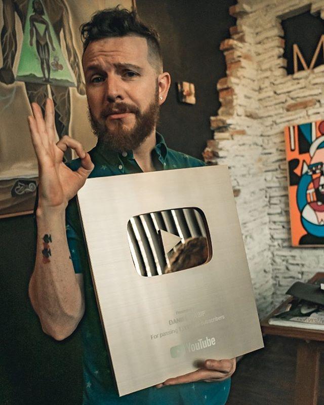 Photo of Daniel Habif obtiene reconocimiento de Youtube
