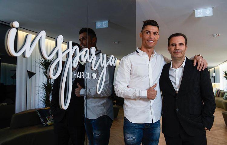 Photo of Cristiano Ronaldo inaugura la primera clínica capilar en Madrid