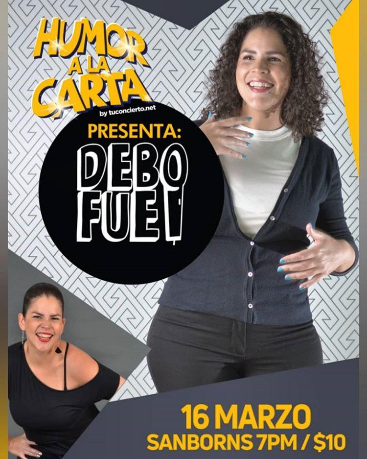 Photo of Humor a la Carta 2019 presenta a «Debofue»