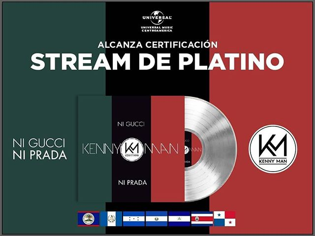Photo of Kenny Man obtiene Stream de Platino por «Ni Gucci Ni Prada»