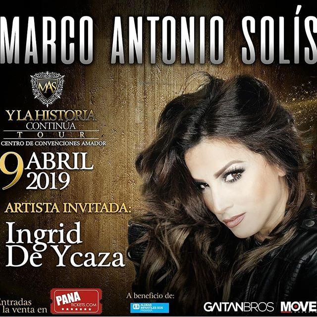 Photo of Ingrid de Ycaza es la artista invitada del concierto de Marco Antonio Solis
