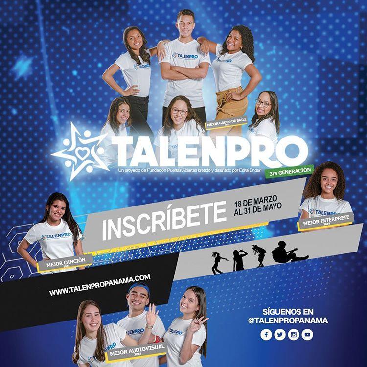 Photo of Faltan pocos días para que inicien las inscripciones en TalenPro Panamá