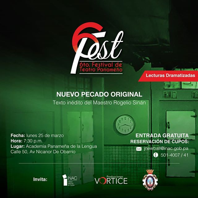 Photo of El 6to. Festival de Teatro Panamá presenta «Nuevo Pecado Original»