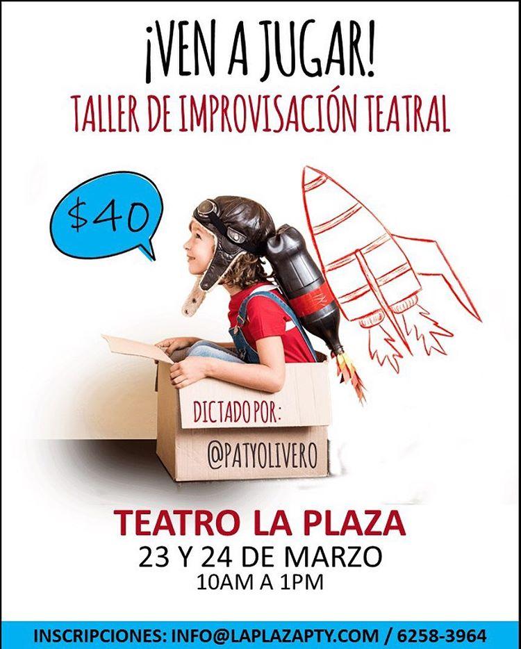 Photo of Teatro la Plaza ofrece «Taller de Improvisación Teatral»