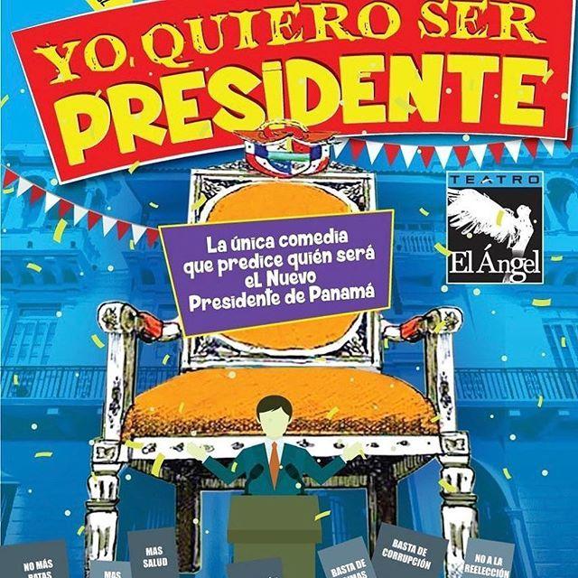 Photo of Obra «Yo Quiero Ser Presidente» en Teatro el Ángel