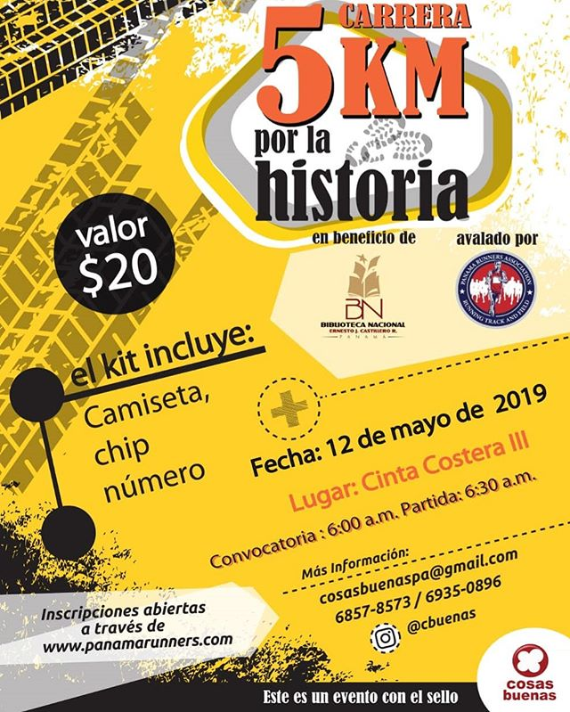 Photo of Panamá presenta primera carrera «5Km por la Historia»