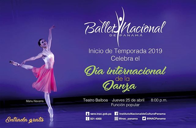 Photo of Ballet Nacional de Panamá, los invita al inicio de la temporada 2019