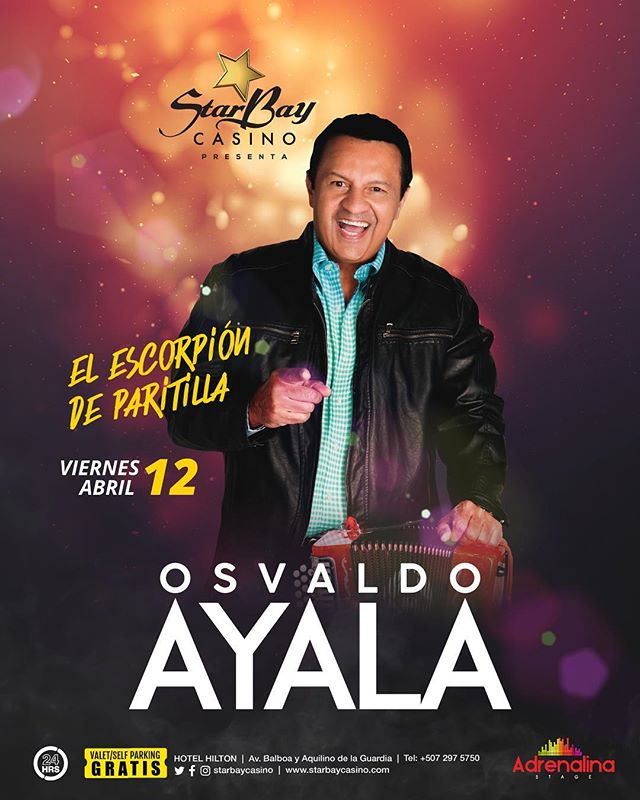 "Photo of Osvaldo Ayala y su conjunto ""Ritmo Santeño» en Starbay Casino"