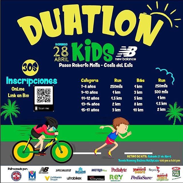 "Photo of Panamá Runner trae ""Duatlón Kids New Balance"" una carrera para niños"