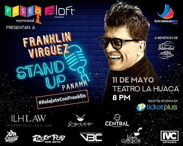 "Photo of Franklin Virguez trae a Panamá el Stand Up Comedy ""Relájate con Franklin"""