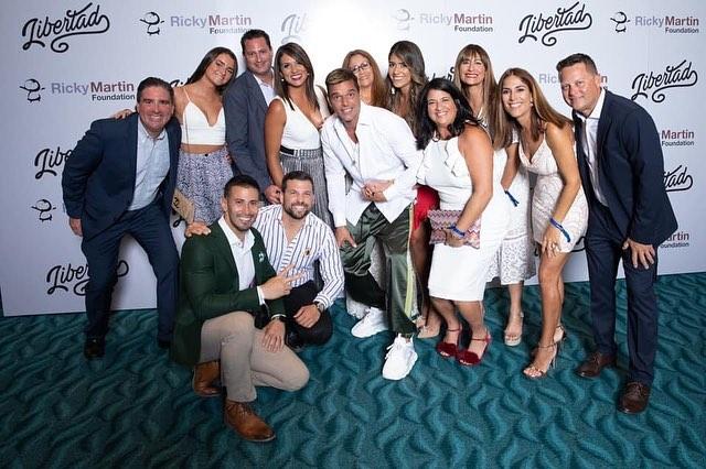 Photo of Ricky Martin celebro la 2da. gala de su fundación