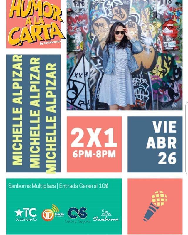 Photo of Michelle Alpizar estará en Humor a la Carta by tuconcierto