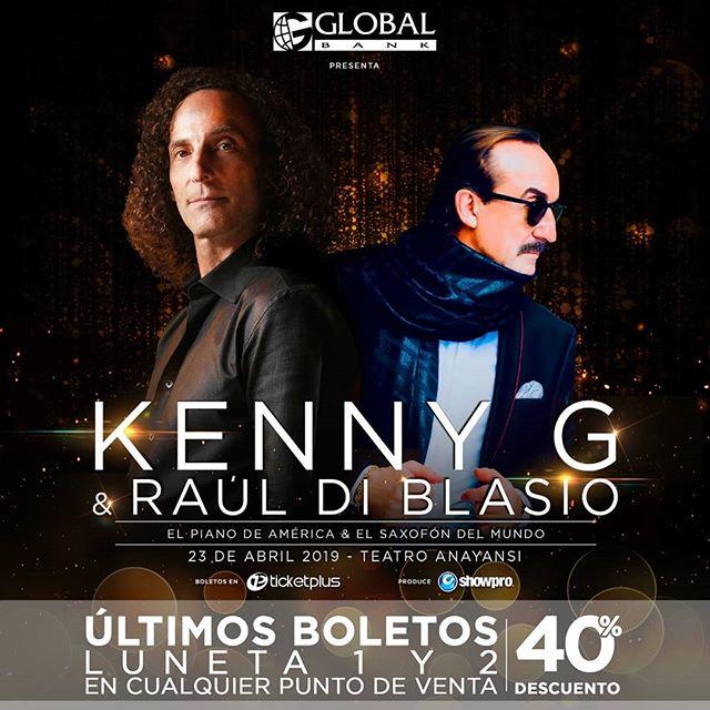 Photo of A solo 1 día para el concierto en Panamá de Kenny G y Raúl Di Blasio