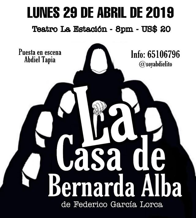 Photo of Teatro la Estación presenta 'La Casa de Bernarda Alba'