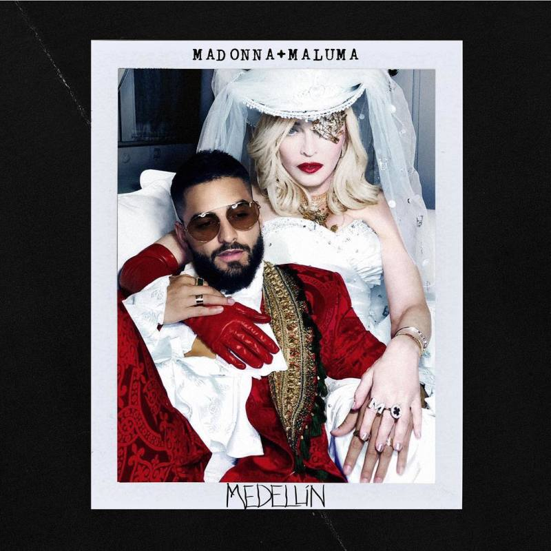 Photo of «Medellín» de Madonna junto al colombiano Maluma N° 1 en Youtube