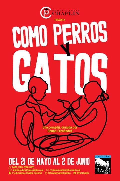 Photo of Próximamente en Teatro en Ángel «Como Perros y Gatos»