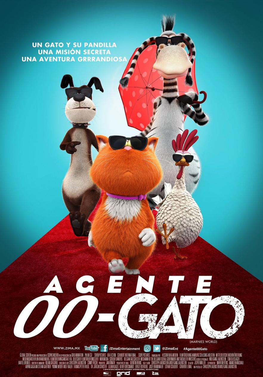 Photo of Estreno de 'Agente 00-Gato' solo en cines