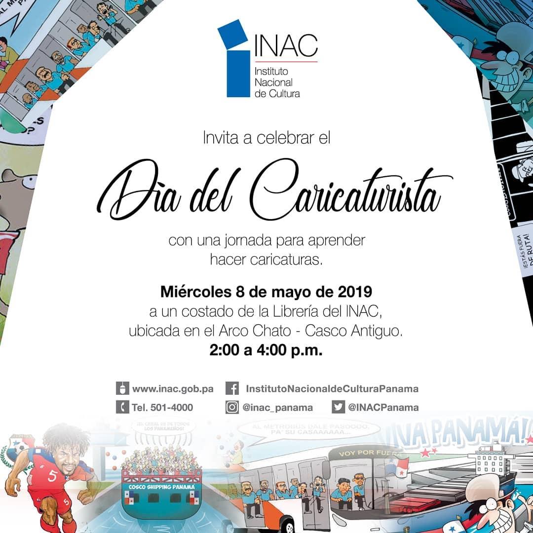 Photo of 7 de mayo 'Día del caricaturista panameño'