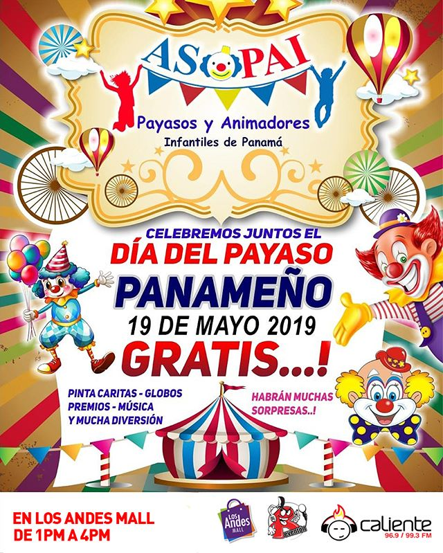 Photo of Celebración del 'Día del Payaso Panameño'
