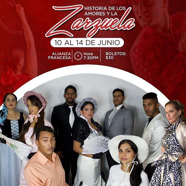 Photo of La Alianza Francesa de Panamá presenta «Historia de los amores y la zarzuela»