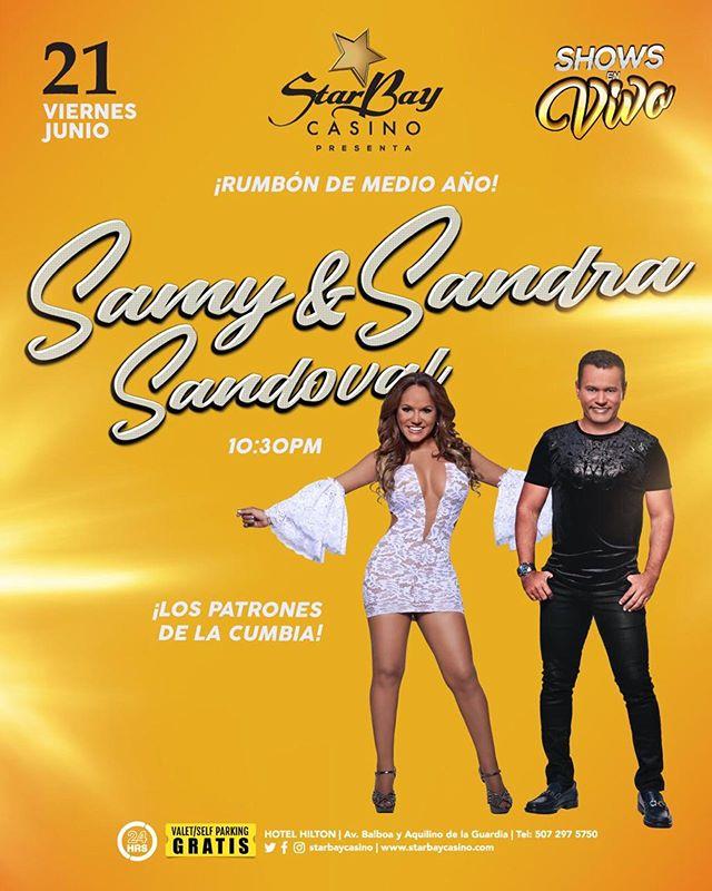 Photo of Starbay Casino presenta Rumbón de Medio Año con Samy y Sandra Sandoval