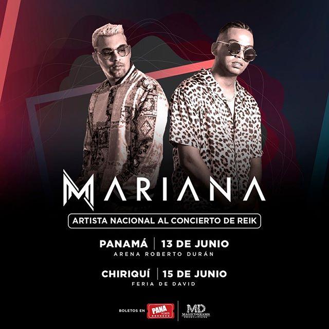 Photo of 'Mariana' es el invitado especial nacional al concierto de Reik en Panamá