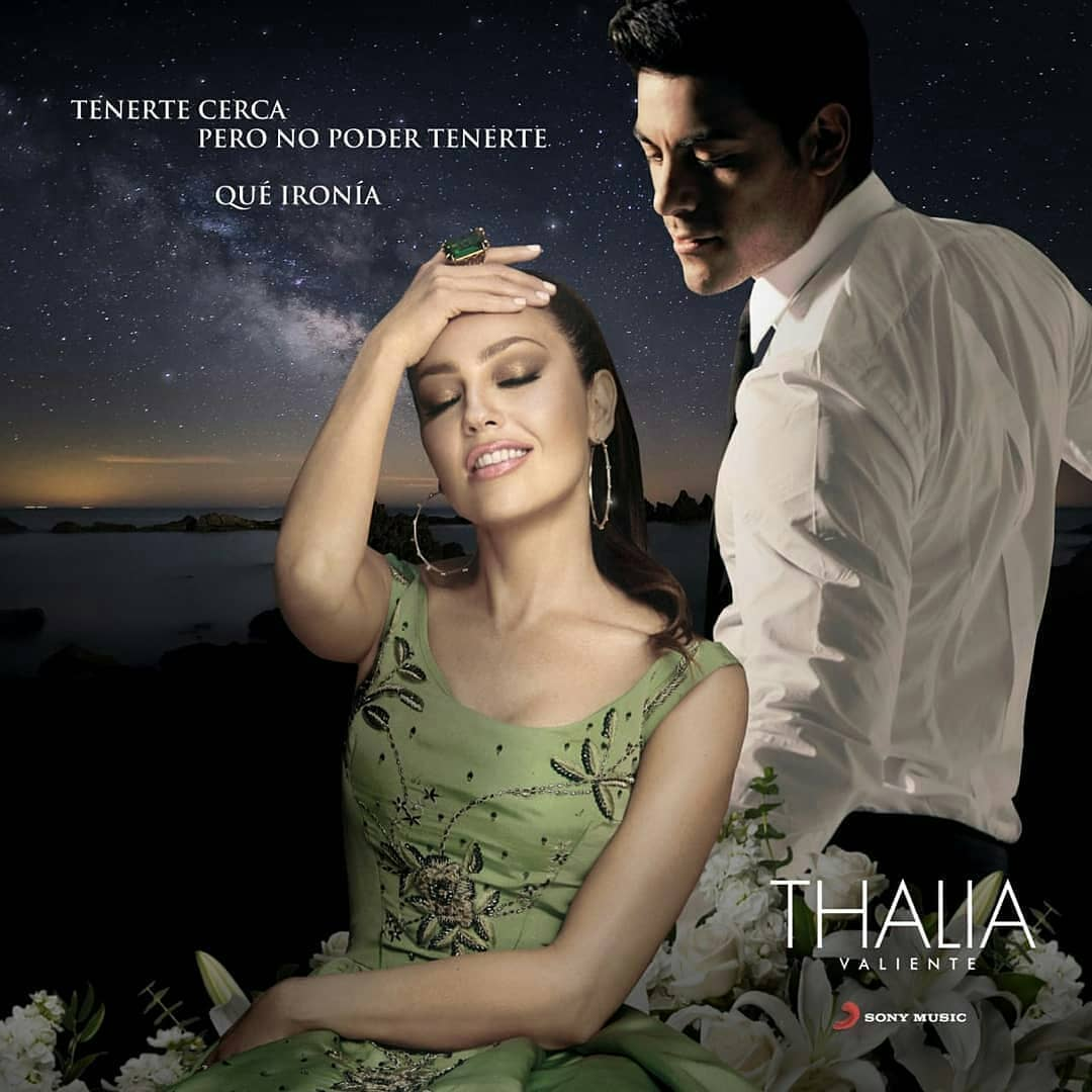 Photo of Thalía y Carlos Rivera estrenan «Qué ironía»