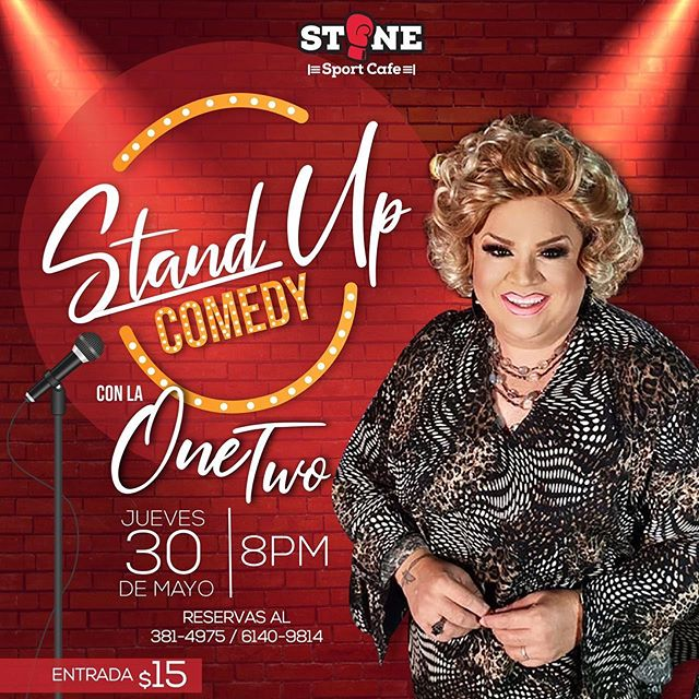 Photo of Stand Up Comedy con la One Two