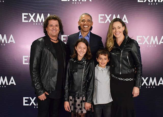Photo of Barack Obama estuvo presente en el Exma 2019 en Bogotá