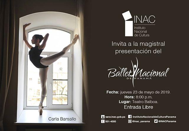 Photo of El Ballet Nacional de Panamá en una presentación Magistral