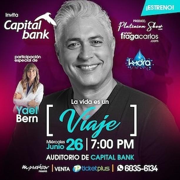 Photo of El motivador Carlos Fraga estará en Panamá con 'La Vida es un Viaje'