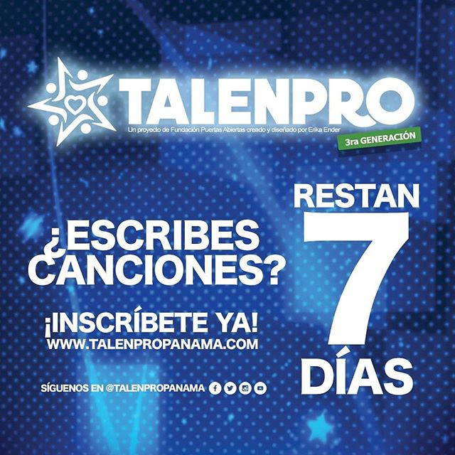 Photo of Inscripciones a TalenPro 2019