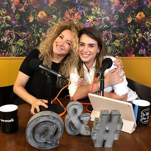 Photo of Erika Ender en el programa 'En Defensa Propia' con Erika de la Vega