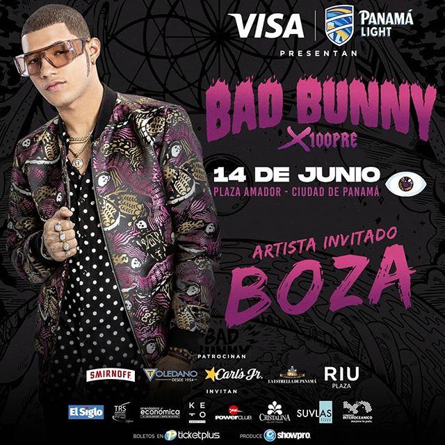 Photo of El Boza es el invitado especial al concierto de Bad Bunny en Panamá