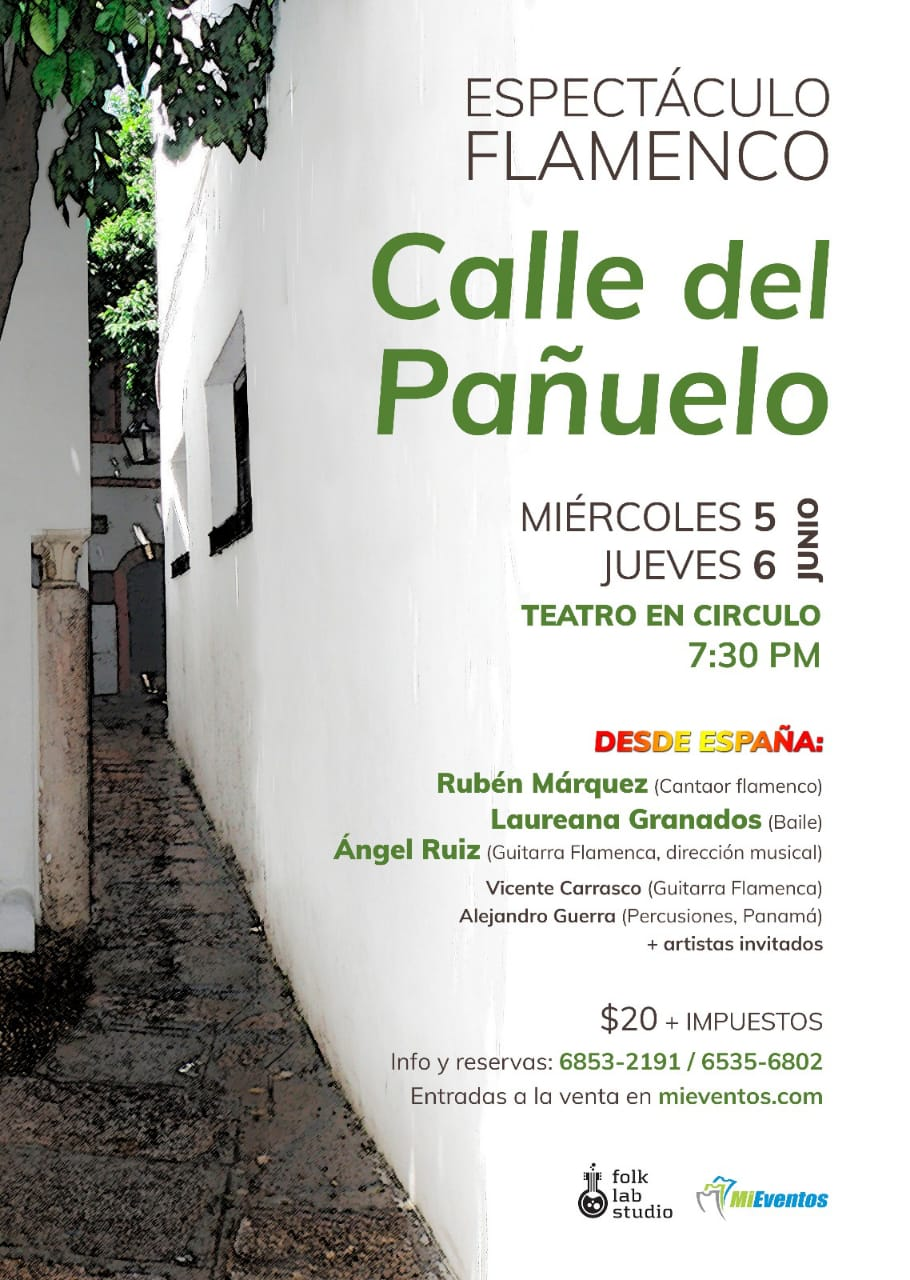 Photo of Panamá presenta un espectáculo de Flamenco «Calle del Pañuelo»