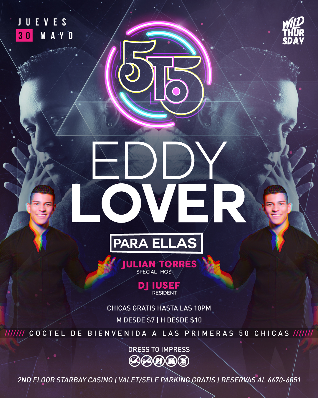 Photo of 'Eddy Lover' estará en 5to5 Panamá