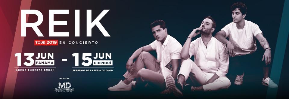 Photo of Ya están a la venta boletos para el concierto de Reik en Panamá y Chiriquí