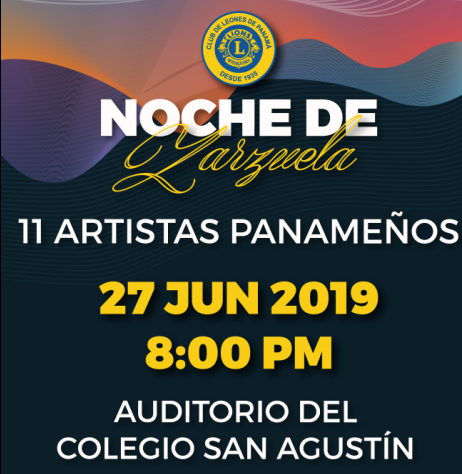 Photo of Club de Leones de Panamá presenta 'Noche de Zarzuela'