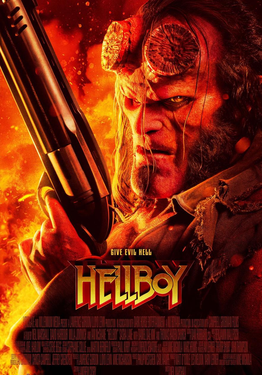 Photo of El film 'Hellboy' ya esta en las salas de cines de Panamá