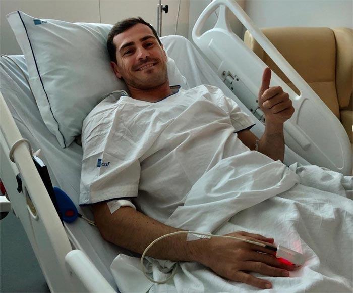 Photo of El futbolista Iker Casillas se encuentra bajo observación luego de sufrir un infarto