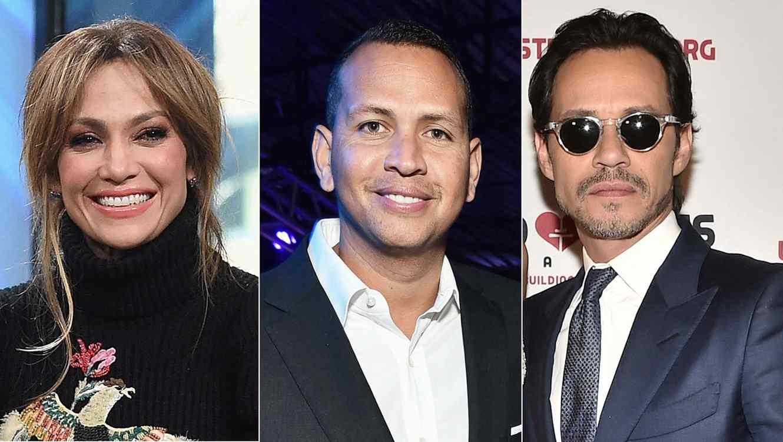 Photo of JLo, Alex Rodríguez y Marc Anthony demuestran que son una familia moderna