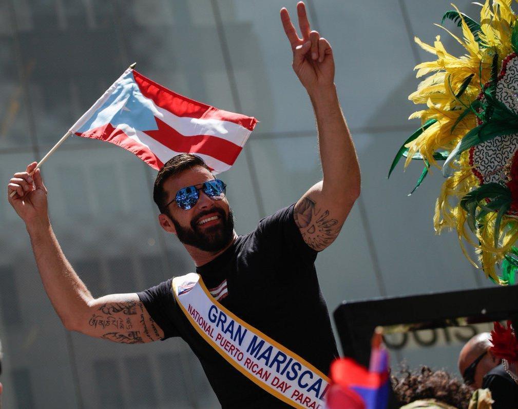 Photo of Ricky Martin es el Gran Mariscal del Desfile Nacional Puertorriqueño en NY