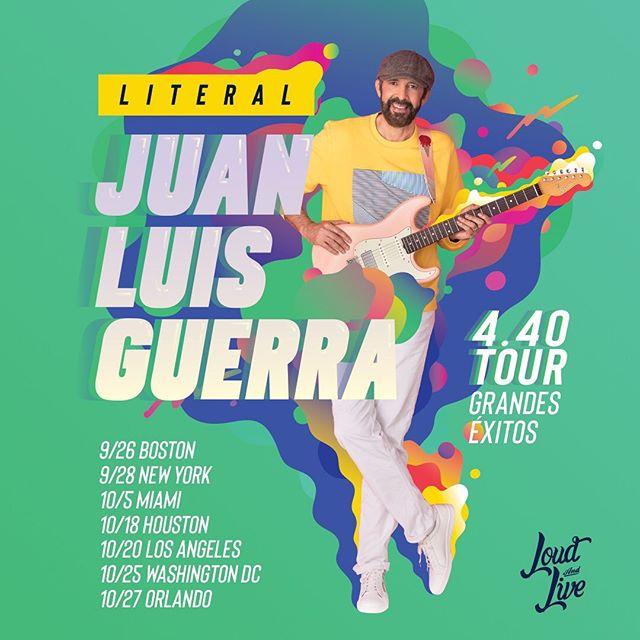 Photo of Juan Luis Guerra anuncia su gira «Literal»