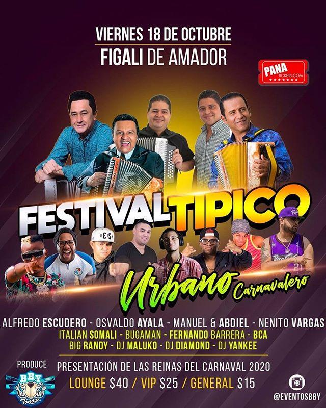 Photo of Festival Típico-Urbano Carnavalero en Panamá