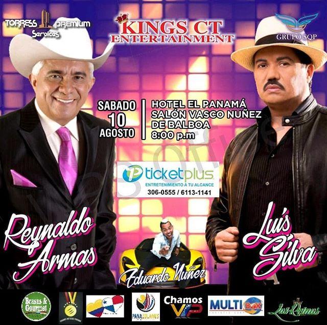Photo of Concierto de Luis Silva y Reinaldo Armas en Panamá