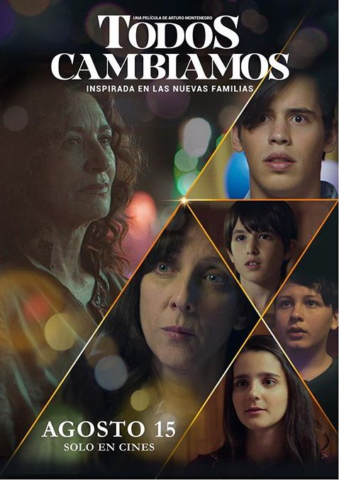 Photo of Arturo Montenegro presenta nuevo film titulado «Todos Cambiamos»