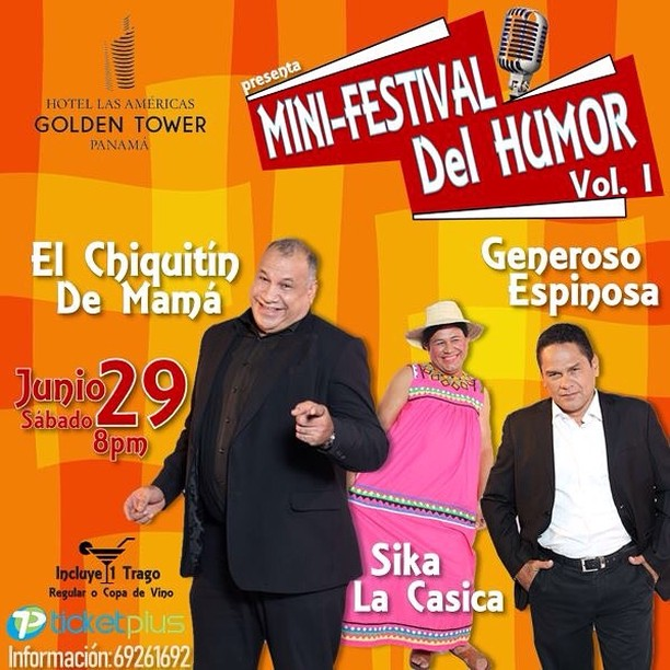 Photo of Hotel Las Américas presentan 'Mini Festival del Humor Vol. 1'